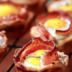 bite breakfast, muffin tins, egg cups, christmas morning, food