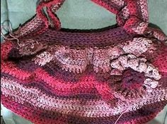 Crocheted Hobo Bag - Meladora's Creations Free Crochet Patterns & Tutorials