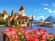 #LakeThun, #Switzerland     www.booking.com/hotel/ch/seepark-thun.en-gb.html?aid=305842&label=pin