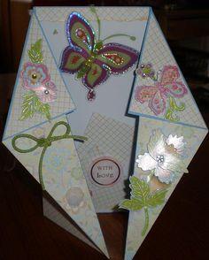 Fancy Tri-Fold card - http://www.card-making-magic.com/fancytri-foldcard.html