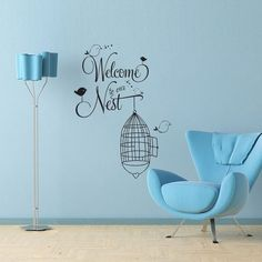 Vinyl Wall Decal Sticker Art  Welcome to our by wordybirdstudios, $22.95
