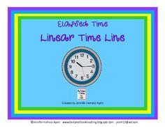 linear clocks for teaching elapsed time