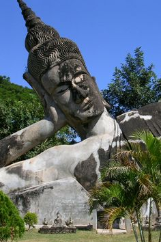 buddha park, buddha imag, beauti place, em geral, amaz place