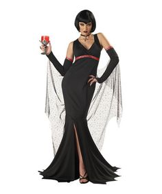 This Black Immortal Woman Costume - Girls is perfect! #zulilyfinds
