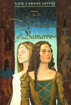 The Two Princesses of Bamarre by Gail Carson Levine...this was TOTES my favorite book I read in 7th grade. lol