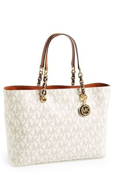 MICHAEL Michael Kors 'Large Cynthia' Tote available at #Nordstrom