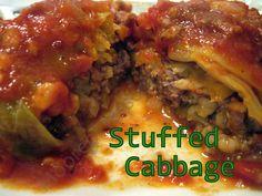food recip, food blogs, stuf cabbag, main dish, cabbag leav