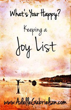 Keeping a Joy List