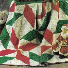 Free crochet pattern for a Christmas Poinsettia Afghan... I see it being in Lot's of Other Color's too!! :)