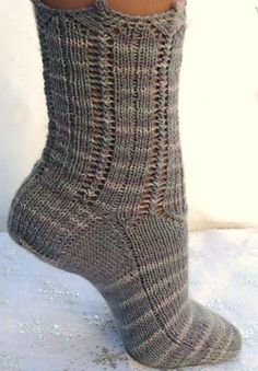 Winterlude Socks...  Pattern available from Redtigerdesigns for $6.00