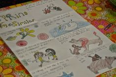 Teaching Fourth: Loved That Lesson.  Springtime similes posters and mentor books.