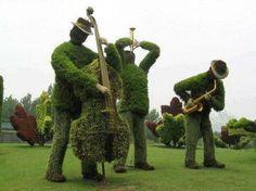 Jardim de músicos
