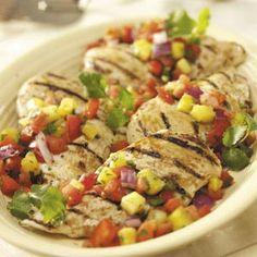 Grilled Chicken with Salsa Recipe
