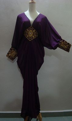 #flower kaftan plum purple  Like, Repin, Share! Thanks :)
