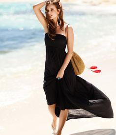 love the black dress