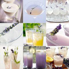 Delicious Lavender drinks!