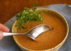 A Simple Soup #Recipe: Creamy Vegan Cashew Tomato Soup