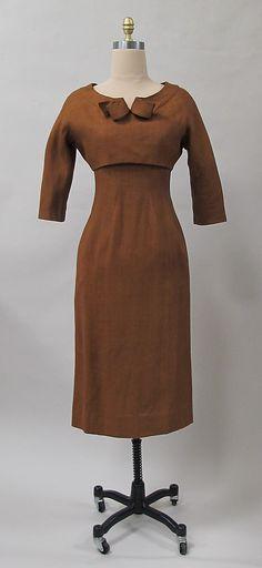 Two-Piece Dress Ensemble by Charles James (1954)