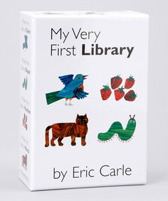 Loving this My Very First Library Boxed Board Book Set on #zulily! #zulilyfinds