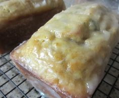 GLAZED LEMON-ZUCCHINI LOAF