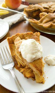 This cozy apple pie