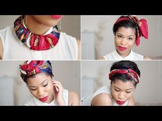 I thought I'd share with you a few ways I like to wear my scarf! ^.^    Scarf to Necklace @ 2:09  Scarf to Head Tie @ 7:31  Scarf to Hair Bow @ 9:42  Scarf to Turban @ 11:07  Scarf to Neck Bow @ 12:35    I love how simple and chic they all look and they are very easy to do!    You'll need...    A Square Scarf (Mine is Vintage, and you can find these in any ...