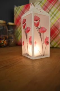 #DIY #battery operated vellum luminaries. These are a great, fun #craft to illuminate your home and the style options are endless. Complete the project with a battery powered tea light.