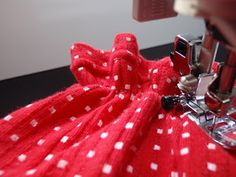 Creative Heart: Shirring Problems - sewing with elastic thread