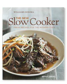 Williams-Sonoma The New Slow Cooker Cookbook #WilliamsSonoma