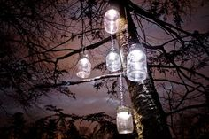 mason jar solar light hangers 4