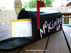 Cute idea. Graduation card holder.