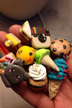 Little clay charms