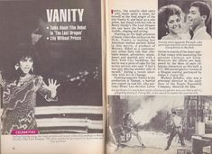 """Denise """"Vanity"""" Matthews talks about her debut in The Last Dragon & Life without Prince 