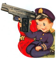 Violence against Women in Vintage Valentines » Sociological Images