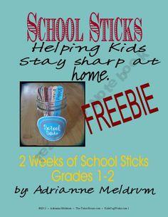 FREE School Sticks 1_2