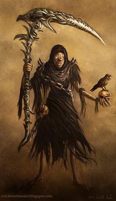 Grim Reaper by Mick2006.deviantart.com on @deviantART