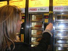 FEBO, automatic food stuff in Amsterdam