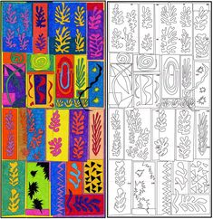 Matisse mural..group work, good early year activity or end year (to leave up in the hall!)