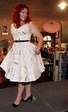 Saturday Night Dress in McCalls Pattern Print