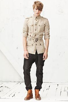 Spring 2013 Menswear  Balmain