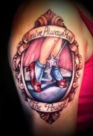 Wizard of Oz tattoos