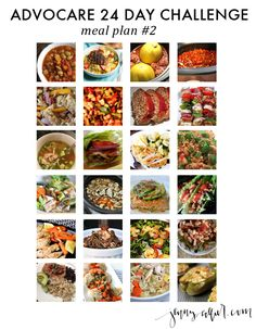 clean eating meals, advocare meals, 24 day challenge meal plan, 24 day challenge meal recipes, advocare meal plans