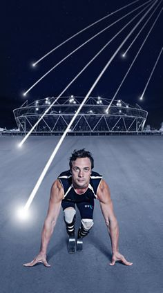 BT advertising for the London 2012 Paralympics.  If you want to see the advert, just click on the picture.