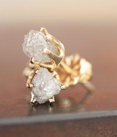 studs, diamonds, diamond stud, stud earrings, rough diamond, diamond earrings, diamond galleri, white gold, jewelri