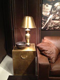 Bernhardt brass is back ... Loving it  #hpmkt fall 2013