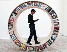 David Garcia Studio presents the Archive II circular bookshelf