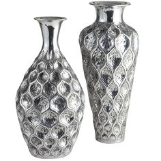 Pier 1 Embossed Vases add instant bling
