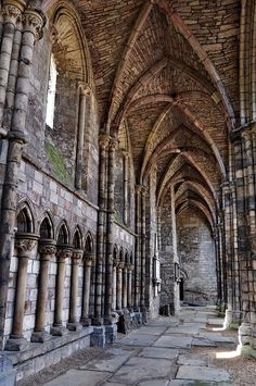 Holyrood Abbey - Edinburgh, Scotland