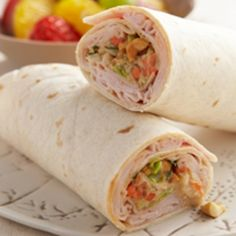 Thai Turkey Wraps - Add this recipe to your meal plan. get.ziplist.com/clipper