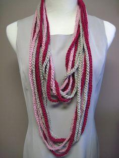 :) Crochet Necklace